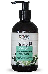 Hidratante de Banho Natural Vegano Capim-Limão Twoone Onetwo 250g