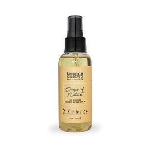 Óleo reconstrutor para cabelos secos, danificados e tingidos Drops Of Nature Natural Vegano Twoone Onetwo 120ml