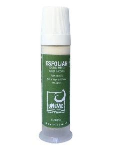Esfoliante facial com argila raphassoul, louro e menta uNeVie 90g