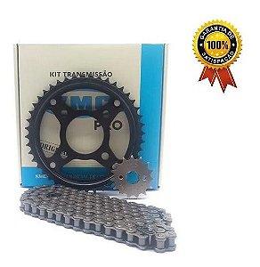 Kit Relação Kmc Pro Titan150/fan150/ 04/15 Titan/fan 160