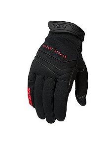 Luva X11 Modelo Nitro Win com TouchScreen nos indicadores P/ Motociclistas,ciclistas e Motocross