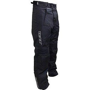 Calça Texx Modelo Strike 100% Impermeável Com proteções P/ motoqueiros e motociclistas