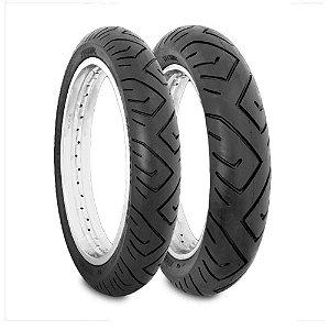 Pneu Par 100/80-17 E 130/70-17 Technic Sport Next/cb300 Twister/Fazer 250