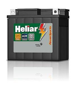 Bateria Heliar Htz6l 125/150 Cg/titan/biz/nxr/bros/fan/xre300