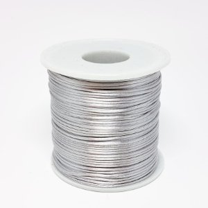 Fio de Seda 1mm 100mt (Prata)
