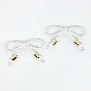 Piercing Lacinho Básico ABS (Branco)
