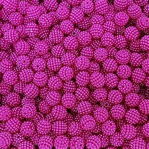 Pérola Craquelada ABS 10mm 100g (Pink)