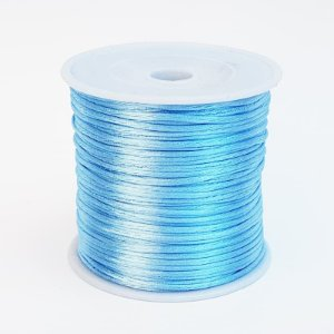 Fio de Seda 1mm 50mt (Azul Claro)