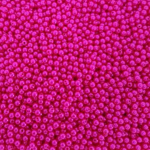 Pérola Inteira ABS 6mm 100g (Pink)