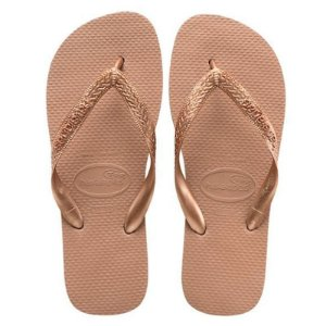 Chinelo Havaianas Top Tira (Rose Gold)
