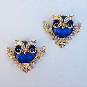 Piercing Garra - Coruja Barrigudinha (Azul)
