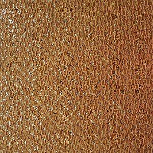 Lonita Tecido - Glitter Gota (Bege)