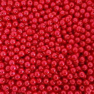 Pérola Inteira ABS 10mm 100g (Vermelho)
