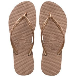 Chinelo Havaianas Slim (Rose Gold)