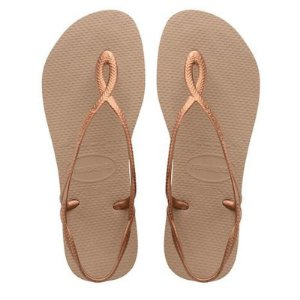 Chinelo Havaianas Luna (Rose Gold)
