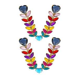 Cabedal Luxo V - Amor de Verão (Colorido Fosco)