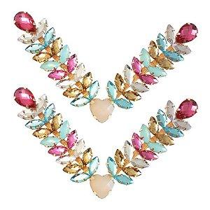 Cabedal Luxo V - Amor de Verão (Colorido Bebê)