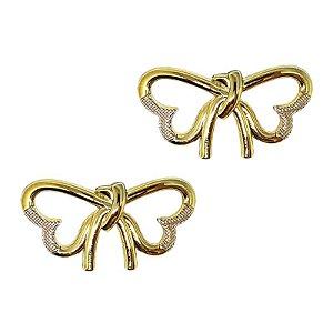 Piercing Laço Simples ABS (Dourado)
