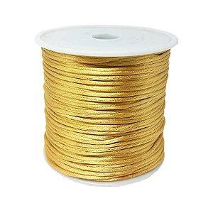 Fio de Seda 1mm 50mt (Dourado)