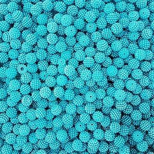 Pérola Craquelada ABS 11mm 100g (Azul Água Doce)