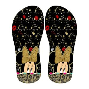 Lonita Sublimada - Minnie Love (Preto)