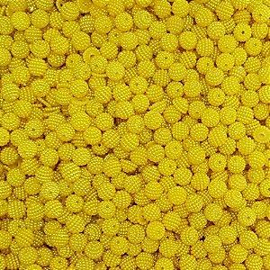 Pérola Craquelada ABS 10mm 100g (Amarelo)