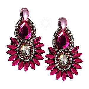 Cabedal I - Índio/ Cocar (Pink)