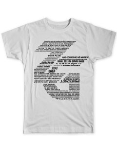 Camiseta ZG Jargões (diversas cores)