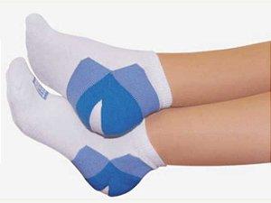 Meia sapatilha para esporão de calcâneo - talon - feet spa