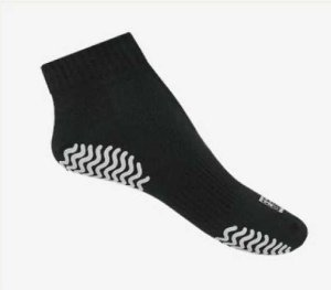 Meia sapatilha antibolhas flex para hidroginástica  e pé diabético - feet spa