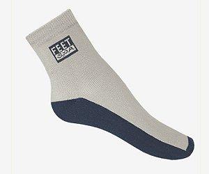 Meia antibolhas esportiva tradicional - pés diabéticos - feet spa