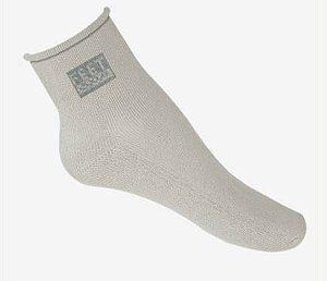 Meia antibolhas tradicional sem punho - feet spa