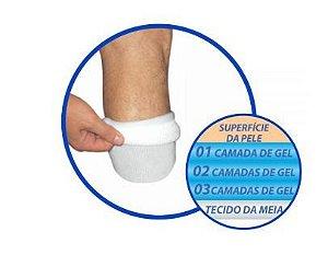 Meia master com triplo gel para coto transtibial – ortho pauher – ref.: sg703