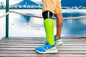 Capa para prótese - confetti tt - para amputações abaixo do joelho