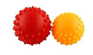 Kit esferas fisioterápica com pinos de massagem – ortho pauher – ref.: fg04