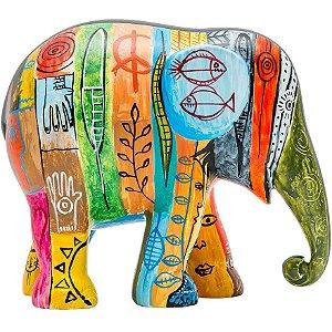 Psycho Elephant Antropofágico Tropical - 10 cm
