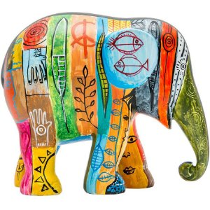Psycho Elephant Antropofágico Tropical - 30 cm