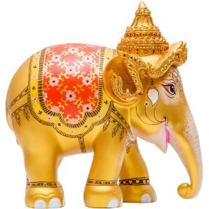 Royal Elephant Gold - 20 cm