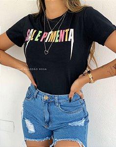 T-shirt Lara Sal e Pimenta