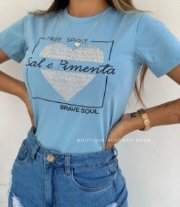 T-shirt Lais Sal e Pimenta