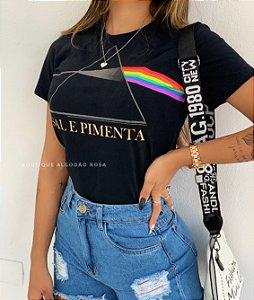 T-shirt Liza Sal e Pimenta