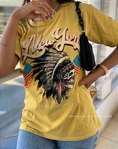 T-shirt Caveira Índio