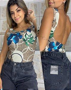 Body Luana Azul