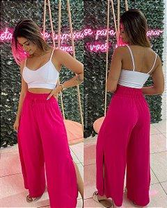 Calça Pantalona Pink