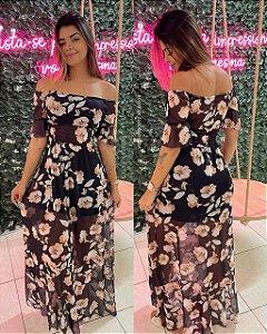 Vestido Nicolly Flores