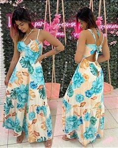 Vestido Jady Azul