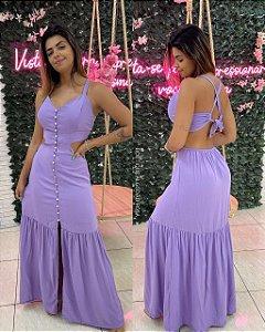 Vestido Brenda Lilás