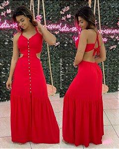 Vestido Brenda Vermelho