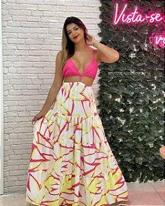 Vestido Milena Rosa