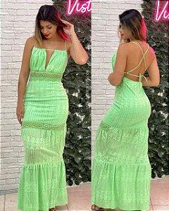 Vestido Maya Verde